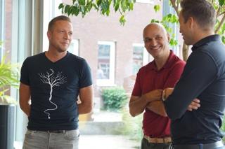 Hans Westerhof, Sebastiaan Kremer en Jos Brinkman