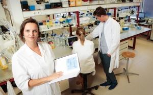 Linda Dijkshoorn en collega's van EV Biotech